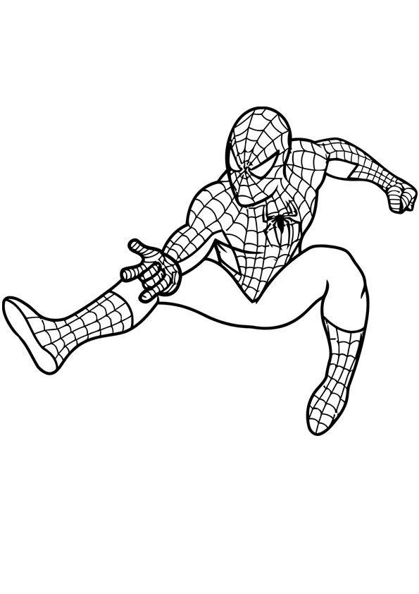 Spider Man Coloring Sheet Spiderman Coloring Coloring Pages American Flag Coloring Page