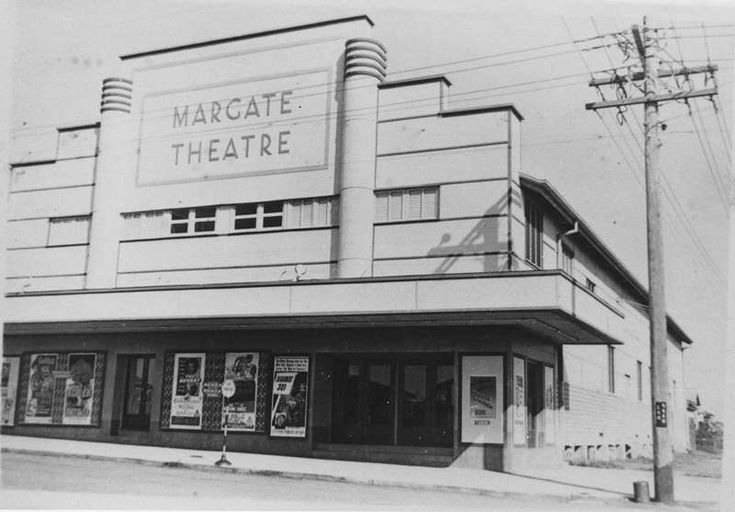Picture of / about 'Redcliffe' Queensland - Margate Theatre in Redcliffe, 1952