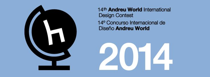 14th ANDREU WORLD INTERNATIONAL DESIGN CONTEST : 4000€ in Prizes