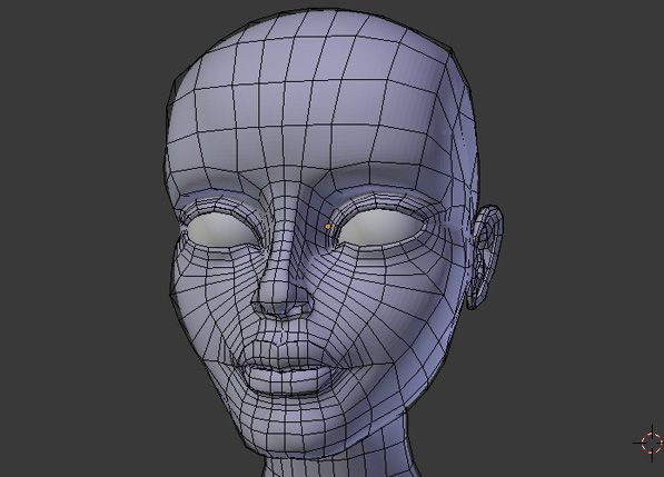 Female Character Modeling In Blender Part 2 : Female character modeling in blender part tuts d