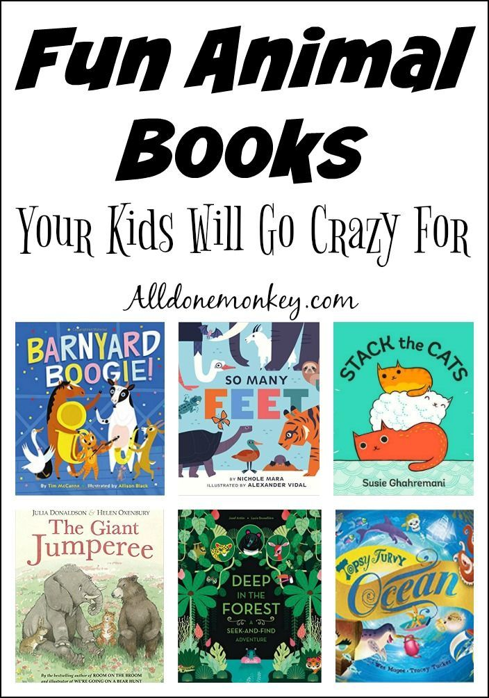 fun animal books your kids will go crazy for - Fun Kid Pictures