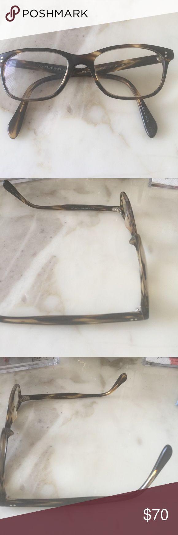 Oliver People's Eyeglass Frame Tortoise brown Oliver Peoples Other