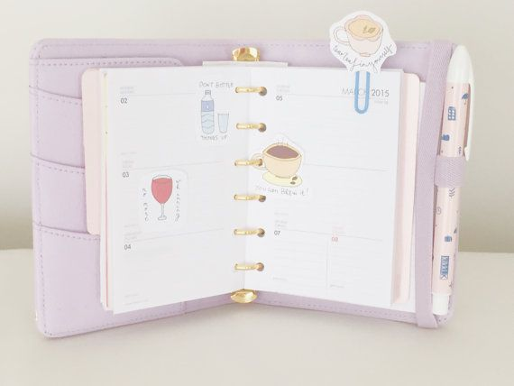 Cute Printable Planner / Scrapbook Decorations by SweetestChelle