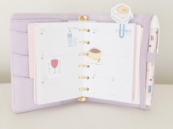 Cute Printable Planner / Scrapbook Decorations by SweetestChelle