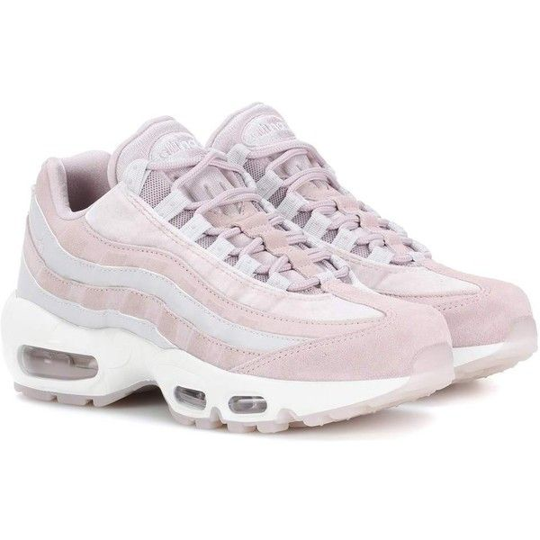 Nike Air Max 95 Leather Sneakers ($215) ❤ liked on Polyvore