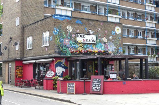 the Lord Nelson, 243 Union Street. 4.5 stars, great burgers