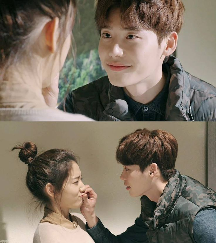 They like to make such as ducky face.. in the screen or off the screen Lee Jong Suk #Pinocchio ep 8 SBS 14.12.04