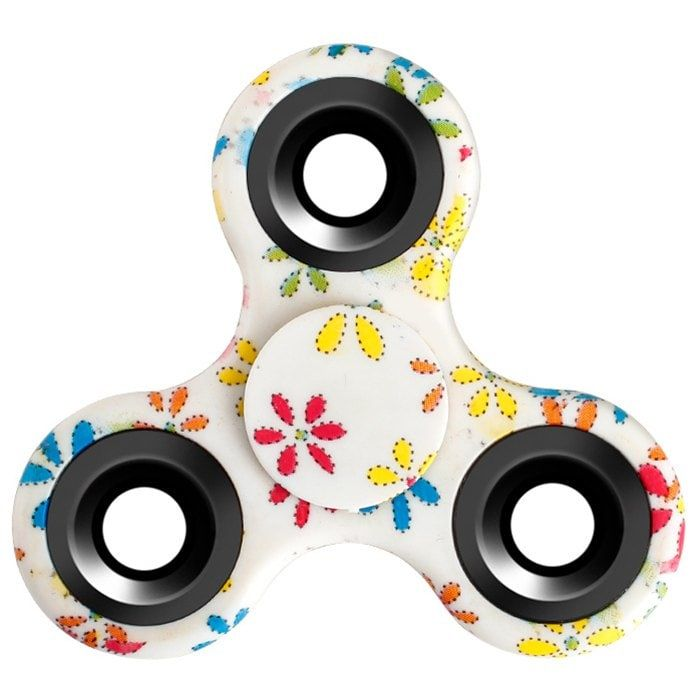 AU NEW Triangle Hand Finger Fidget Spinner Toys for kids Adult Stress Reliever