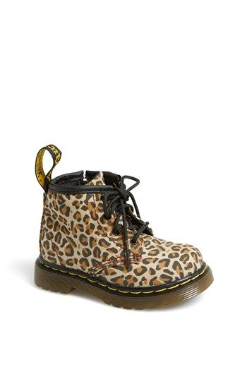 Dr. Martens 'Brooklee' Canvas Boot (Baby & Walker) available at #Nordstrom