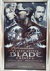 Autographed Blade Trinity Poster Jessica Biel, Ryan Reynolds & David Goyer - &amp, AUTOGRAPHED, Biel, BLADE, DAVID, Goyer, JESSICA, Poster, REYNOLDS, RYAN, TRINITY
