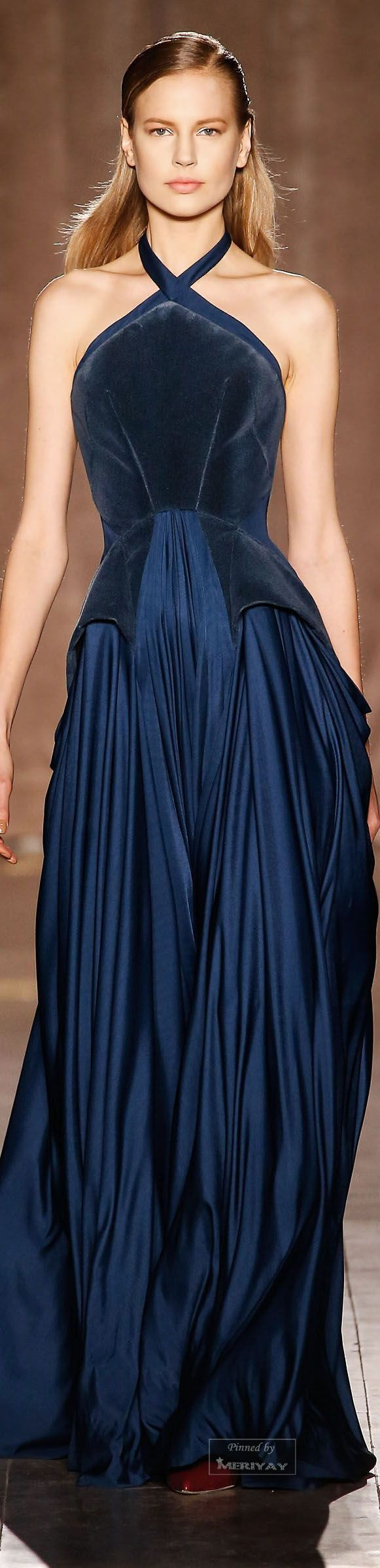 Zac Posen Fall-winter 2015-2016. I'm kind of obsessed with Zac Posen