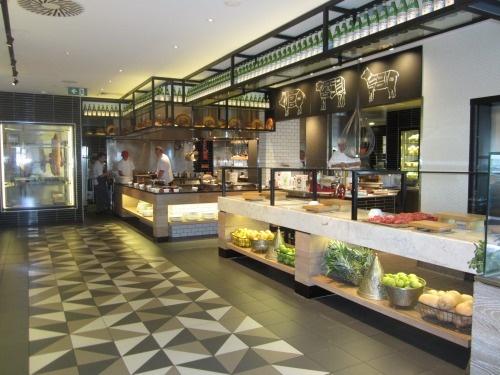Beautiful hotel restaurant interiors