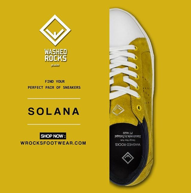 Meet the Solana!  Find your perfect pair of sneakers available now at…