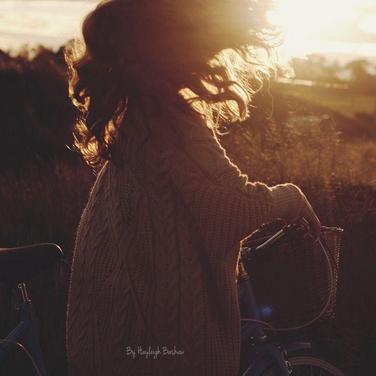 Sun set girl by hayleighbashaw