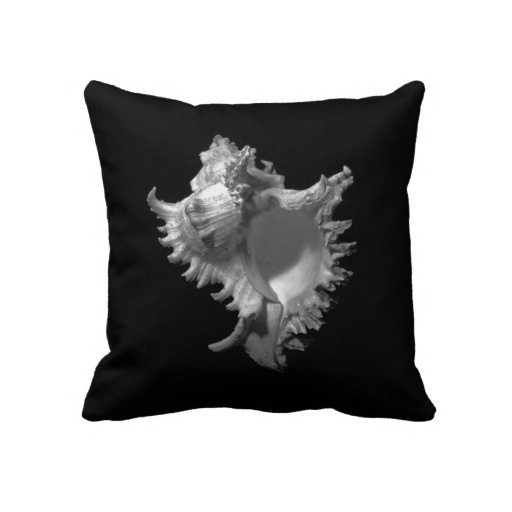 Murex ramosus Seashell ~ Pillow