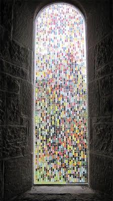 James Hugonin window in Healey Church