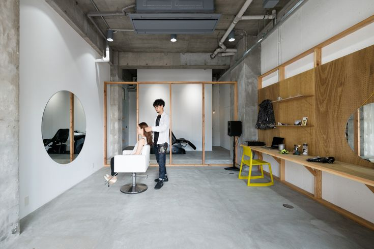 This Minimalistic Japanese Hair Salon Goes Back to the Basics