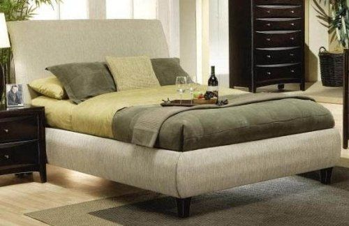 King Size Platform Bed in Beige Fabric by Coaster Home Furnishings, http://www.amazon.com/dp/B003E7WPHC/ref=cm_sw_r_pi_dp_BqNXpb0625RVA