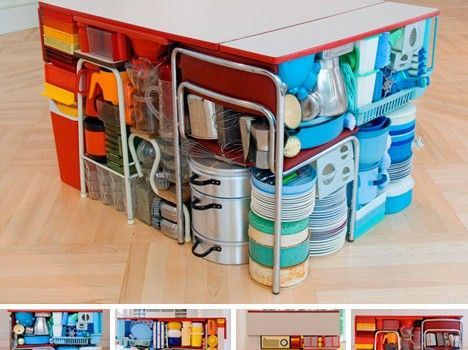 House & Condo – it's all about saving space