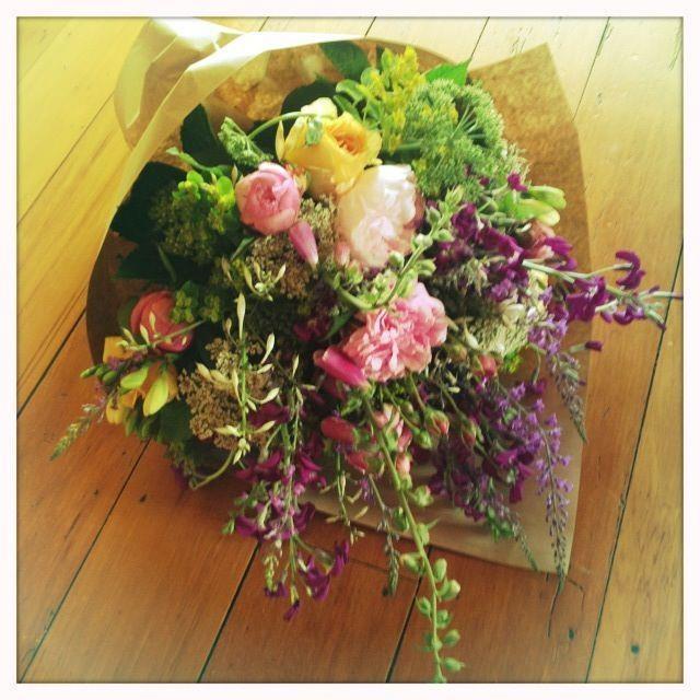 wild flower bouquet.