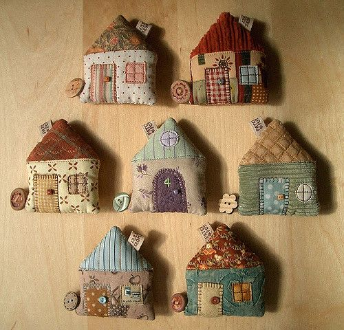 House Tape Measures | PatchworkPottery | Flickr
