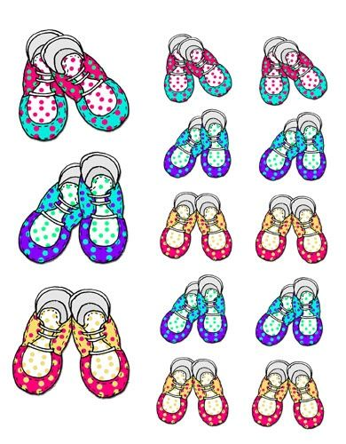 17 Best images about Shoes for babies illustrations on Pinterest ...