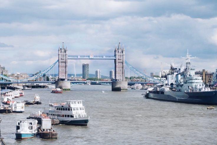 : Tower Bridge, London, UK Europe trip 2016