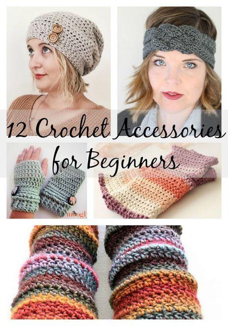 12 Beginners' Crochet Accessories