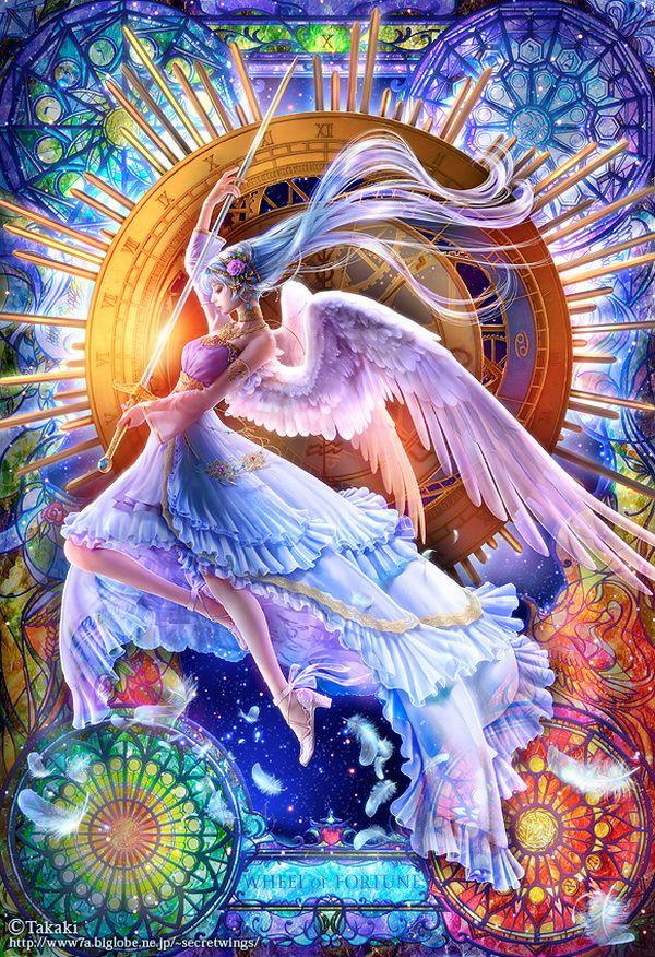 Bellísima Ángel del Destino.