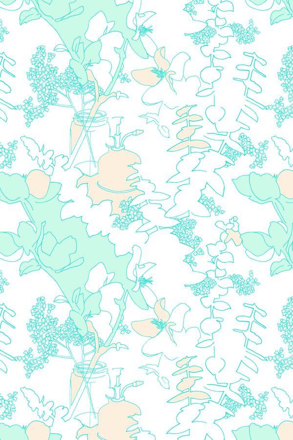 AUG | Linework | Colourway 1 © Louise Jones