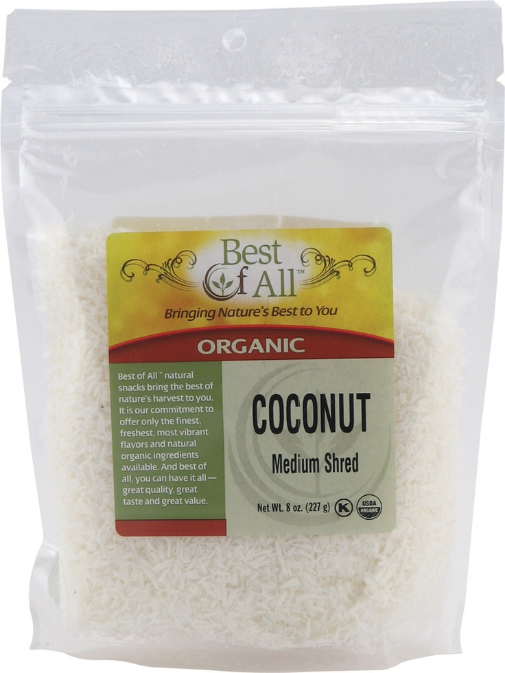 #vitacostfoodie - Best Of All Organic Shredded #Coconut - also great for my #granola recipes!