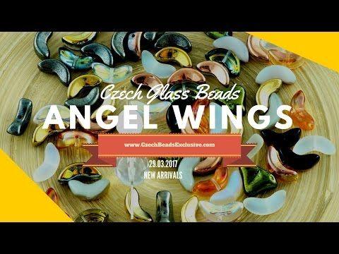 Czech Glass Beads: Angel Wings - New arrivals 29.03.2017   CzechBeadsExclusive