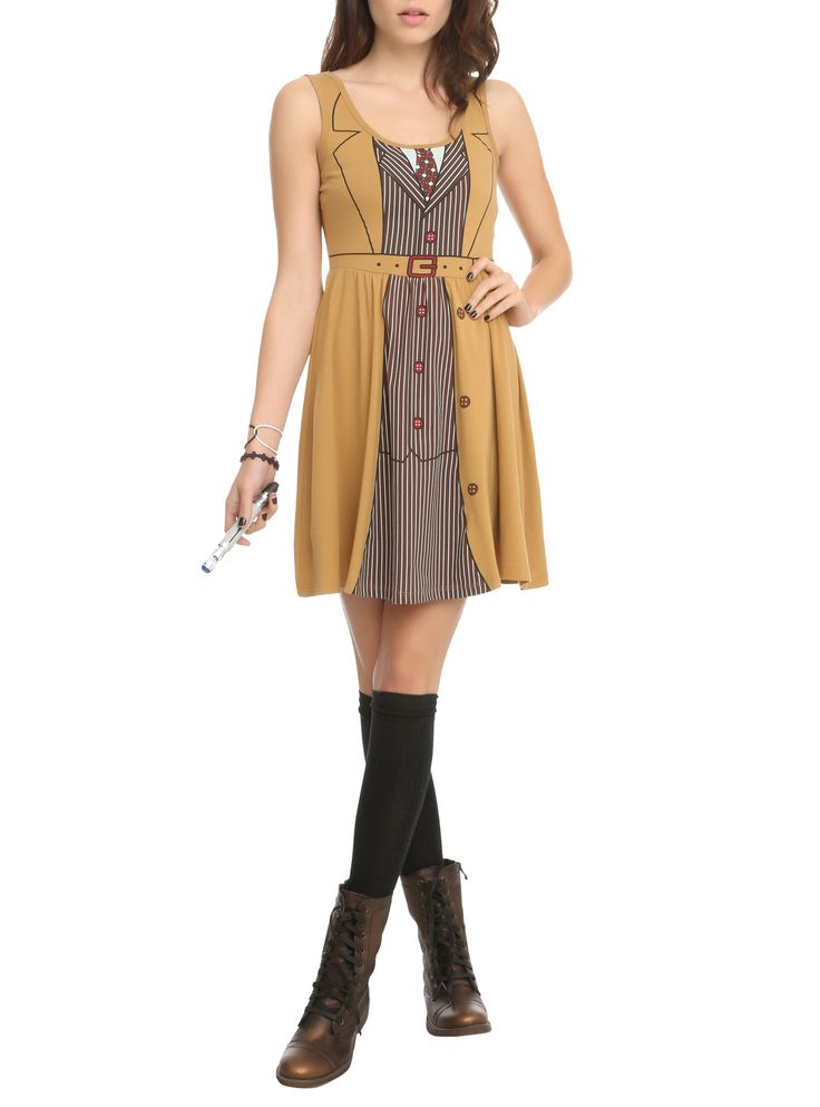 Doctor Who Her Universe David Tennant Tenth Doctor Costume Dress | Hot Topic