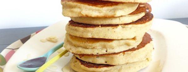 Pancakes Sans Gluten au Lait de Soja Vanillé