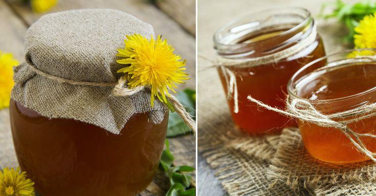 Recept na jarní pampeliškový med