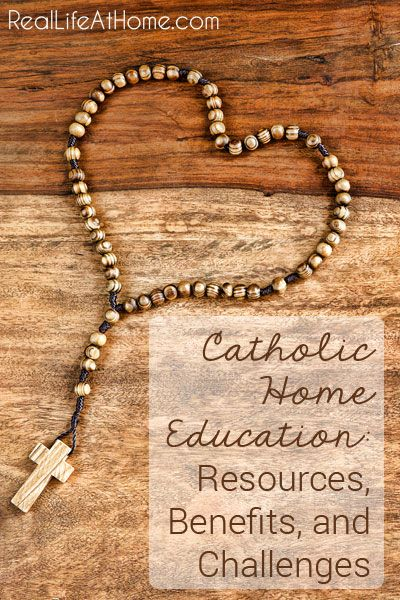 Catholic Homeschooling: Resources, Benefits, and Challenges | RealLifeAtHome.com