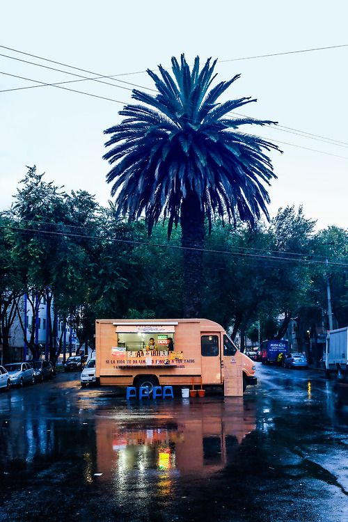 Food truck, Mexico City
