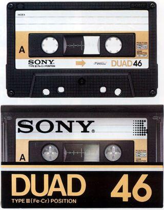 Sony DUAD 46 Type III (Fe-Cr) (1978)