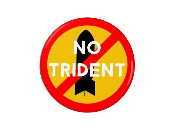 Anti Trident /  Anti Nuclear -  Love - Badge/Magnets - Anti Austerity - No Trident - UK -Corbyn - Anti Nuclear - CND