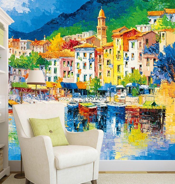 Fotobehang Riviera Ligure Fotobehang Muurmode Nl Fotobehang Muurschildering Behang Bureaubladachtergronden
