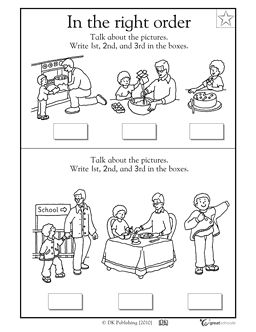 The 33 best images about Sequencing on Pinterest | Speech therapy