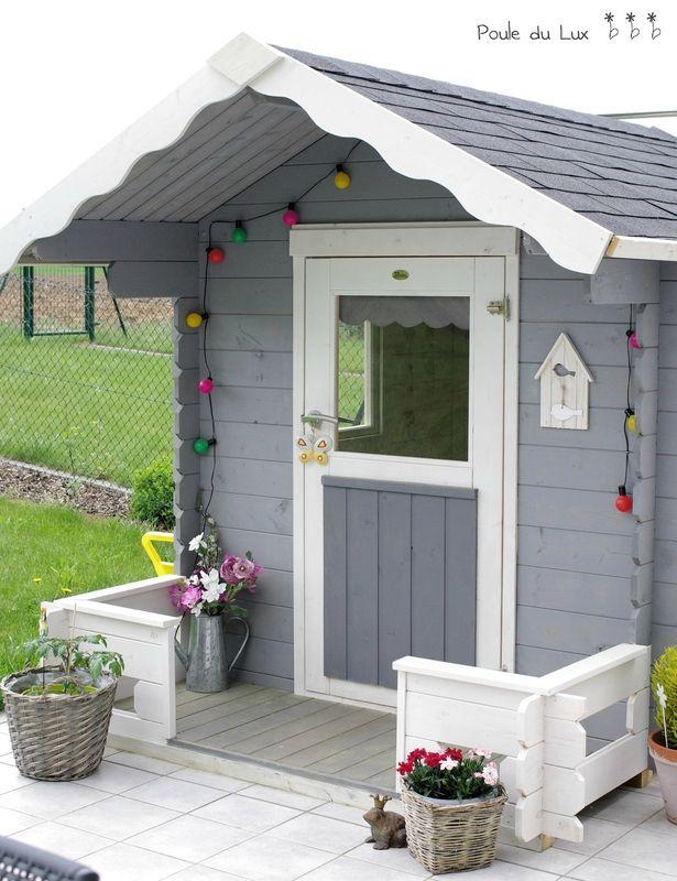les 25 meilleures id es concernant cabane jardin enfant. Black Bedroom Furniture Sets. Home Design Ideas