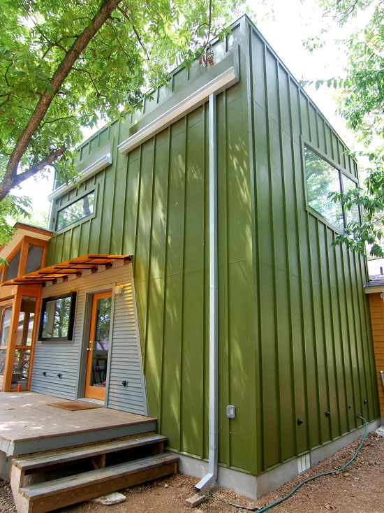 90 best images about garden sheds on pinterest see more for Modern shed siding