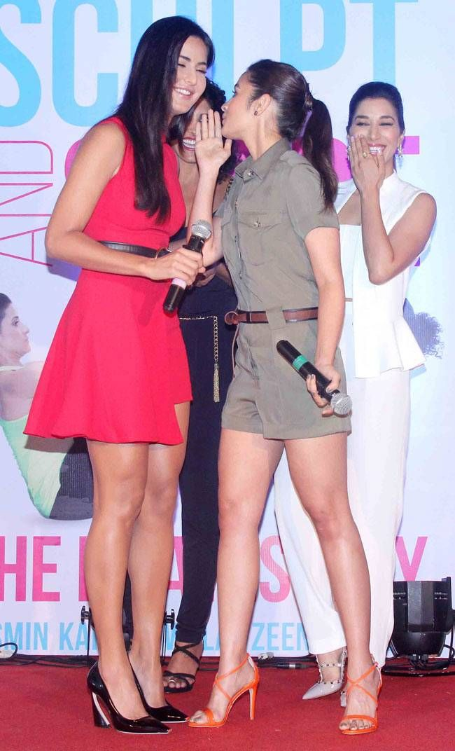 Katrina, Alia unveil fitness book Sculpt and Shape: The Pilates Way - | Photo1 | India Today |