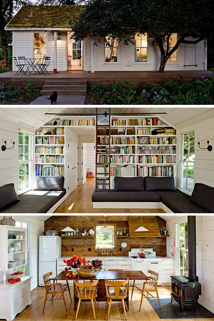 A Stunning 540 Square Feet Home North Of Portland Oregon