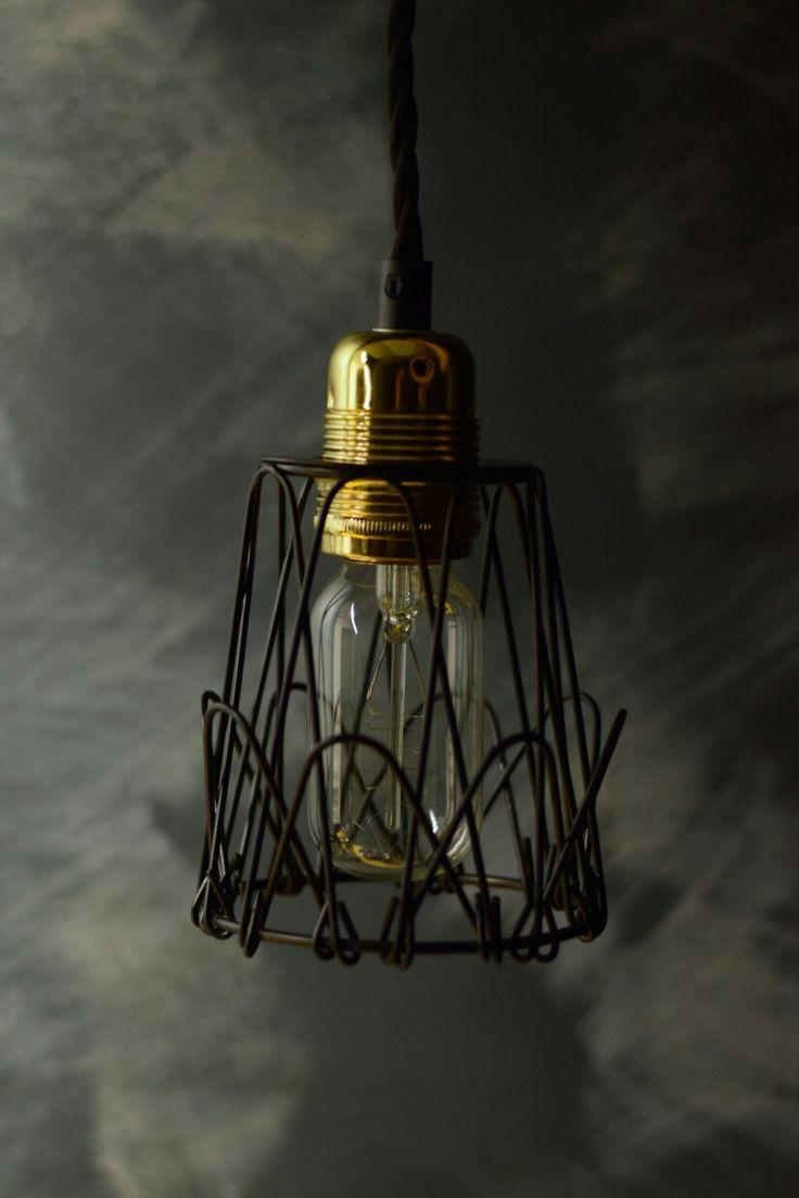 Mini wire pendent cage