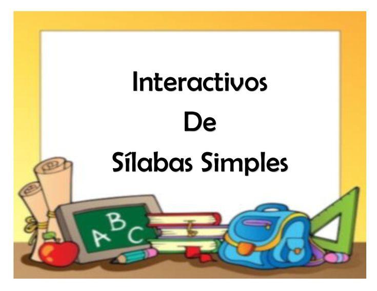Material interactivo de sílabas para preescolar y primaria Cuadernillo de sílabas, correspondiente a la serie de fichas de las letras consonantes y las sílabas. En estas hojas de trabajo encontrarás un dibujo en grande...