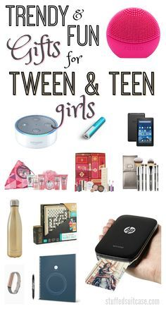 Stop guessing at what's on your teen Christmas list - check out these trendy & fun gifts for tween and teen girls!