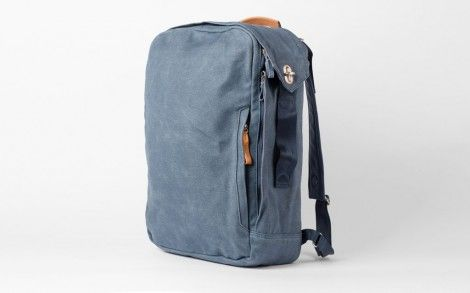 QWSTION Backpack Pacific Navy