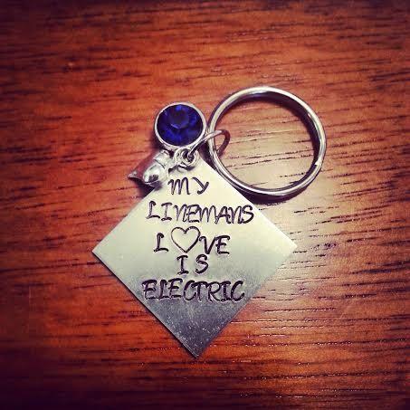 "Lineman Love! ""My Linemans love is electric"""